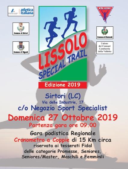 Lissolo Special Trail – Seconda edizione